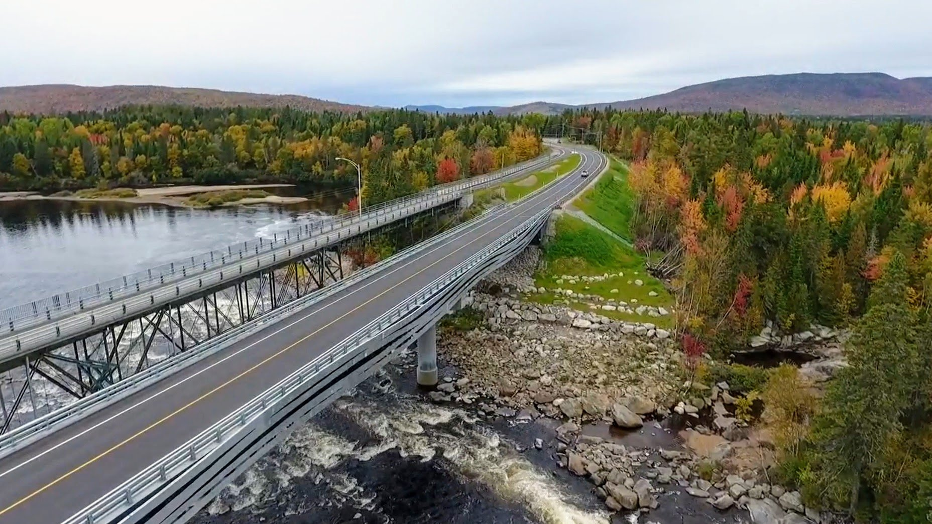 Nouveau pont à Shannon